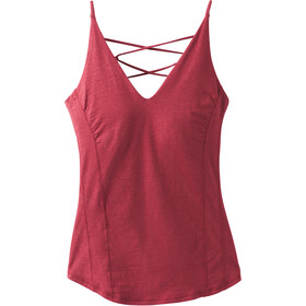 Prana Arrowland Top sin Mangas Mujer, rusted red